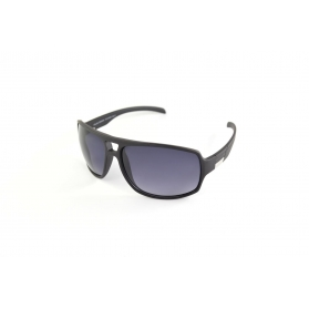 Matte mask sunglasses with a double bar