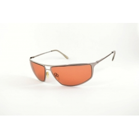 Pilot sunglasses with dual metal bar