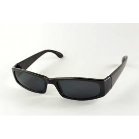 Thin rectangular sunglasses