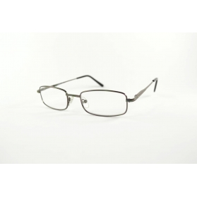 Glasses Rectangular half-moon reading with rounded edges