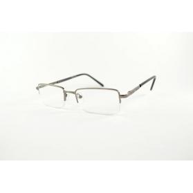 Gafas de lectura semi-sin montura rectangular