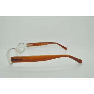 Lunettes de lecture ovales monture bicolore et bi-matière