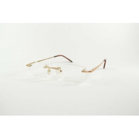 Oval half-moon breakthroughs reading glasses