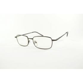Rectangular gun reading glasses with rounded edges