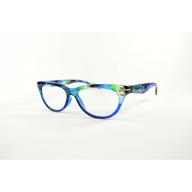 Butterfly retro 50's reading glasses with feminine printings