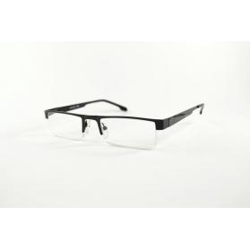 Gafas de lectura rectangulares semi-sin montura