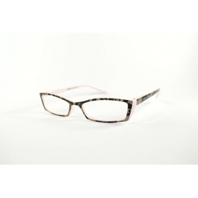 Butterfly reading glasses with feminine printings