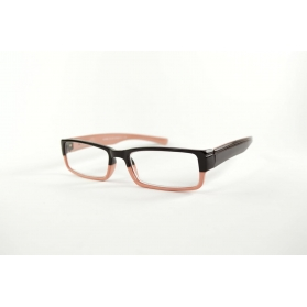 Rectangular reading glasses with colorful printings
