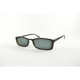 Classic rectangular sun readers with thin temples
