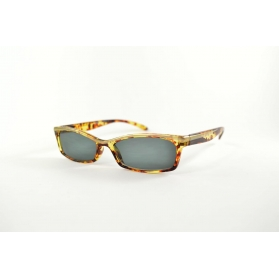 Butterfly retro 60's sun reading glasses with tortoiseshell printing and golden border