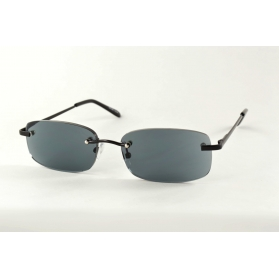 Black rimless sun reading glasses