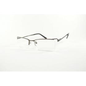 Rectangular semi-rimless reading glasses