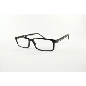 Rectangular TR90 reading glasses with airy temples