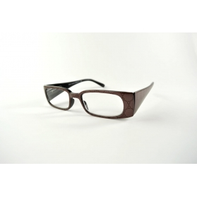 Flickering rectangular reading glasses with colorful printings