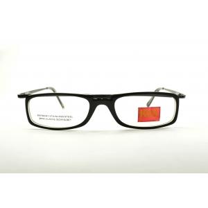 Monture optique rectangle noir
