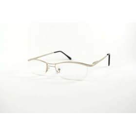 Half-rimmed butterfly reading glasses