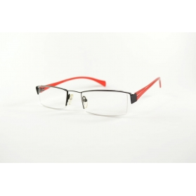 Gafas de lectura rectangulares semicirculas