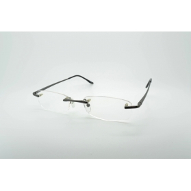 Rectangular breakthroughs reading glasses with rounded edges