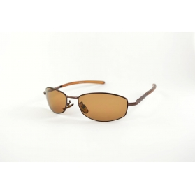 Brown oval sunglasses