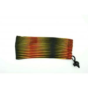 Lunettes de lecture rectangulaire à rayures colorées