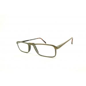 Gafas de lectura rectangulares impresadas con nariz puente elevada