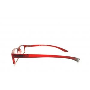 Gafas de lectura rectangulares alrededor del cuello