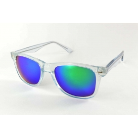 Crystal pantos sunglasses with revo mirrored lenses