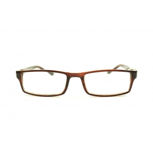 Thin rectangular reading glasses with 180 degrees extendable temples