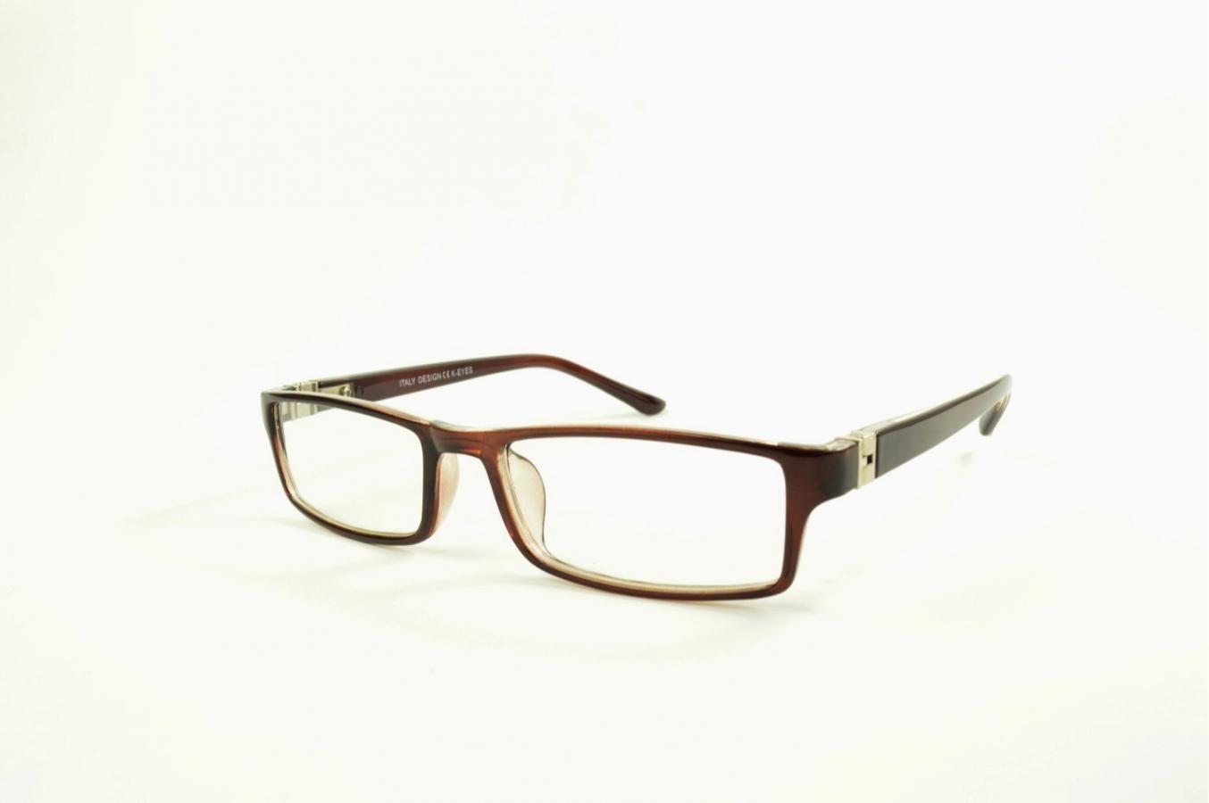 Rectangular sun reading glasses with rounded edges - K-EYES