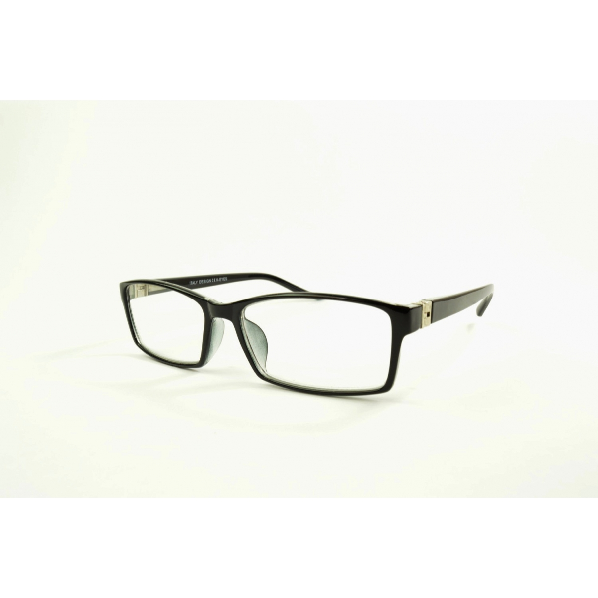 Large rectangular reading glasses with 180 degrees extendable temples
