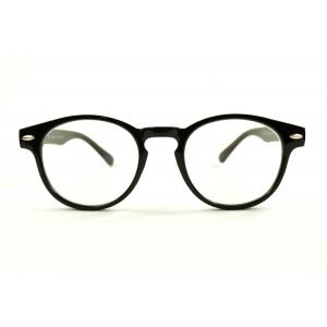 Gafas de lectura redondas retro con 2 clavos en los lados de la montura