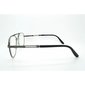 Great Pilot shape reading glasses gun metal