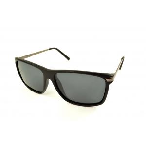 Gafas de sol polarizadas rectangulares con finas patillas de metal