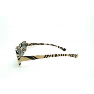 Arabesque beige and black sun reading glasses