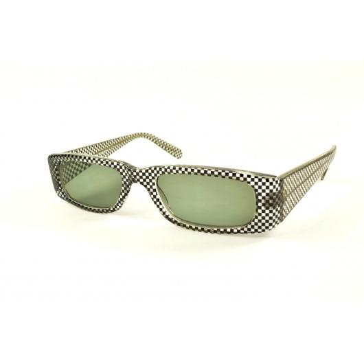 Gafas de lectura de sol rectangulares con bordes redondeados