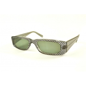 Rectangular sun reading glasses with rounded edges