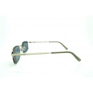 Lunettes de lectures demi-cerclées à verres teintés et monture en métal