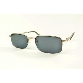 Invisible eye-brow sun reading glasses with metal frame