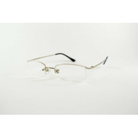 Eye-brow metal reading glasses