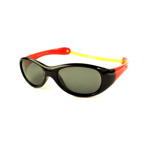 Oval polarized sunglasses for kids with customized temples
