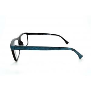 Rectangular colorful wood-type reading glasses