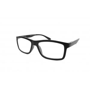 Perforated rectangular reading glasses