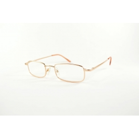 Rectangular reading glasses with rounded edges