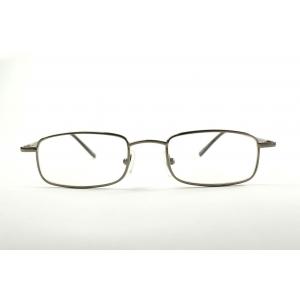 Gafas de lectura rectangulares con bordes redondeados
