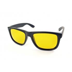 Lunettes de conduite à verres jaunes polarisées