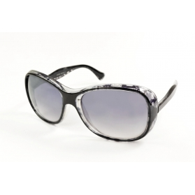 Two-tone mask sunglasses