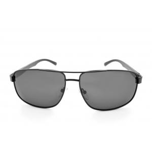 Gafas de sol polarizadas en forma piloto de metal