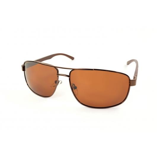 Polarized metal pilot polarized sunglasses