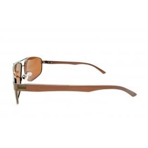 Gafas de sol polarizadas piloto de gran tamaño de metal