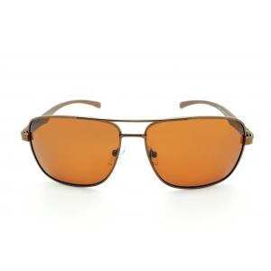 Polarized large metal pilot polarized sunglasses